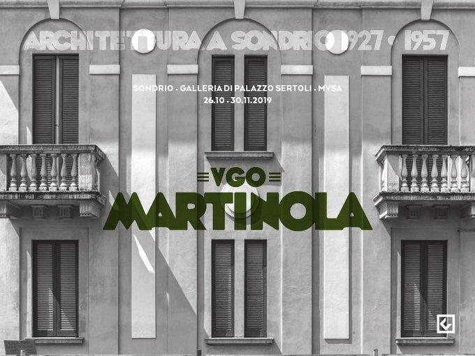 Ugo Martinola - Architettura a Sondrio