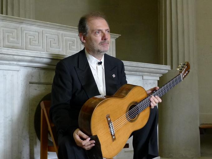 Recital di Stefano Grondona, chitarra